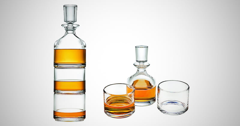 Godinger Stackable Whiskey Decanter