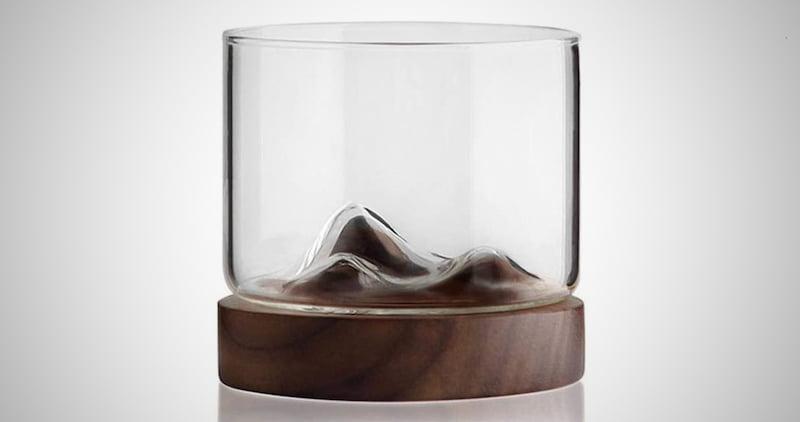 Whiskey Mountain Fuji Style Glass