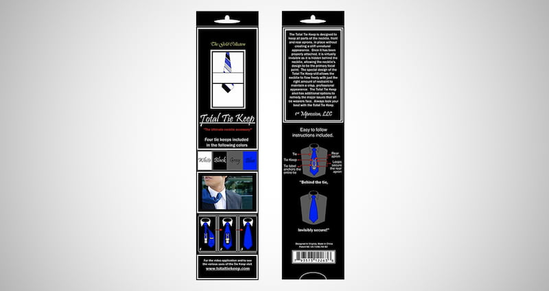 Total Tie Keep Necktie Accessory