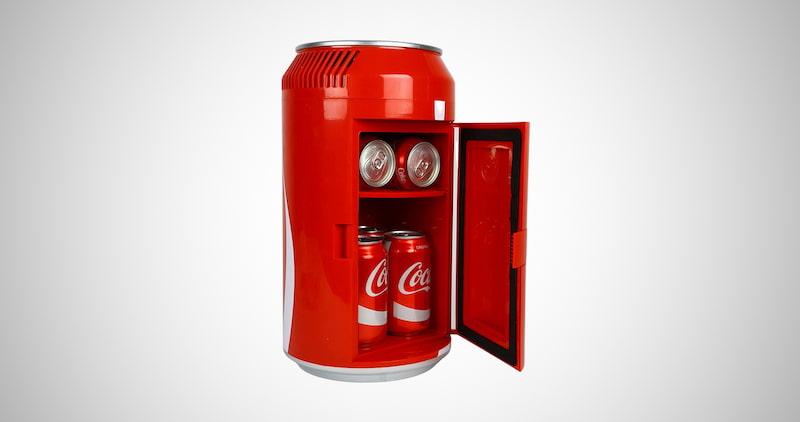 Coca-Cola Mini Fridge Cooler