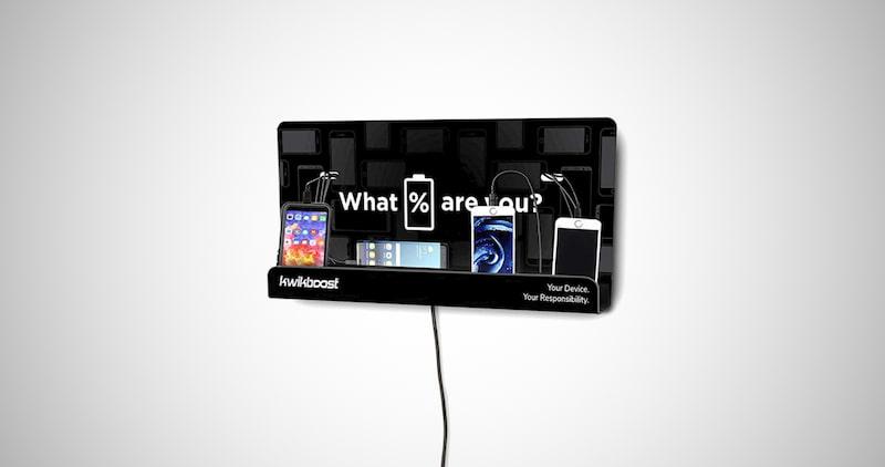 KwikBoost Charging Shelf