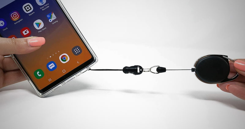 Smartphone Safety Leash & Clip