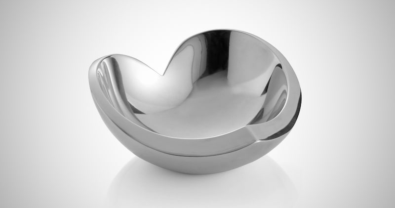 Nambe Alloy Classic Heart Bowl