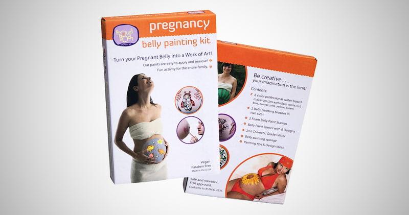 Proud Body Belly Art