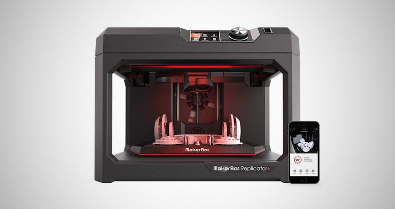MakerBot Replicator + 3D Printer