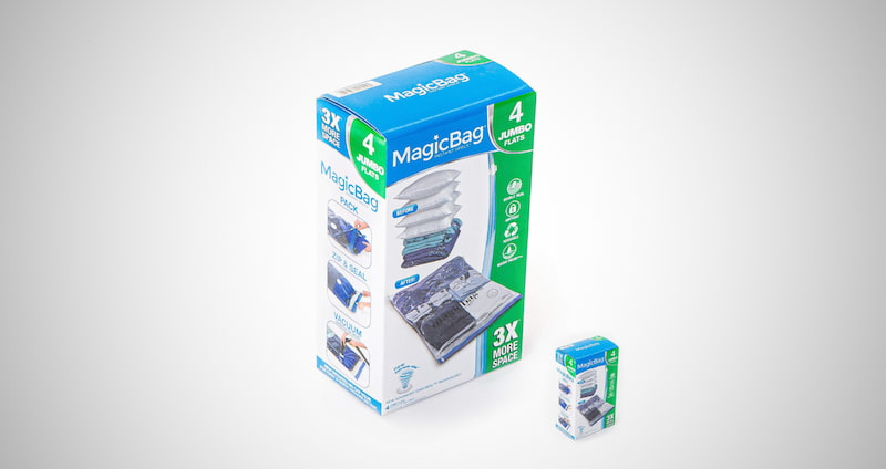 MagicBag Instant Space Saver Storage