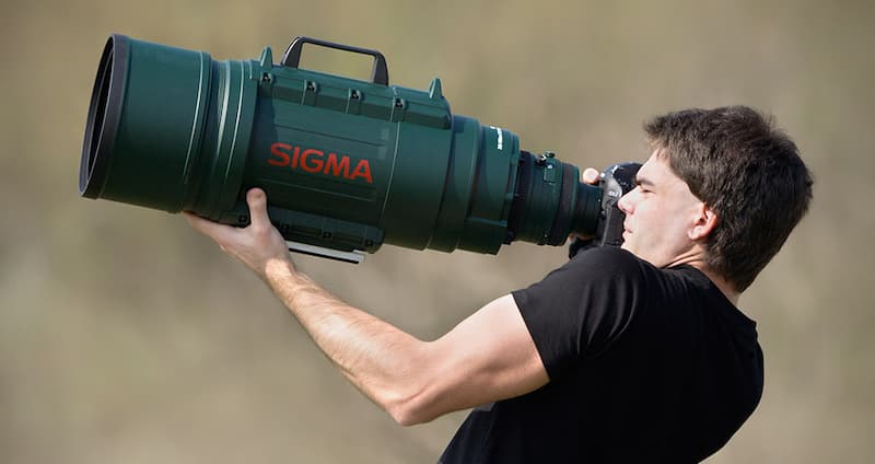Sigma Ultra-Telephoto Zoom Lens