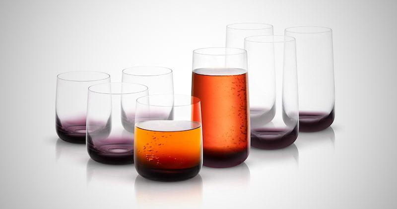 JoyJolt Crystal Glassware Set