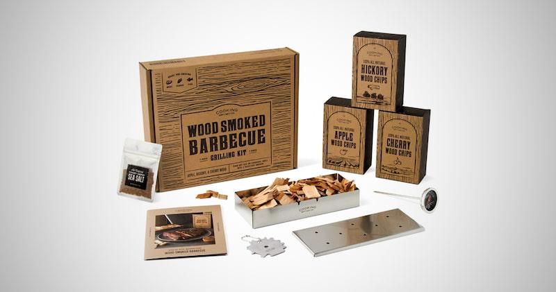 The Original Wood Smoked Grill Kit