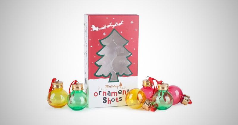 Christmas Ornament Spirit Shot Glasses