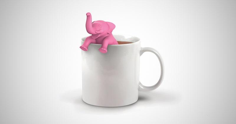 Elephant Silicone Tea Infuser