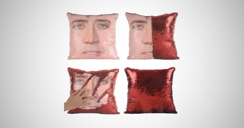 Nicolas Cage Mermaid Pillow Cover
