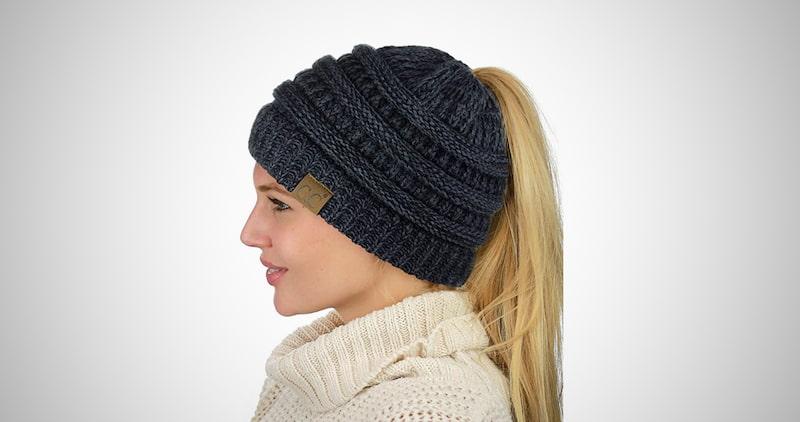 C.C BeanieTail Hat