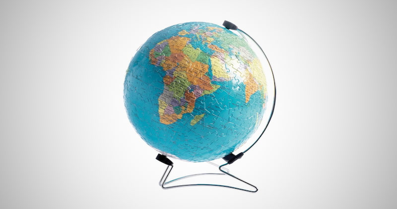 The Earth 3D Jigsaw Puzzle Ball