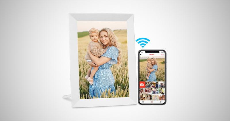 AEEZO WiFi Digital Picture Frame