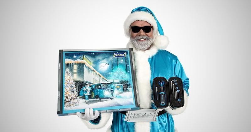 Hazet Advent Calendar Santa Tools
