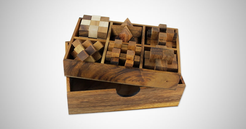 Hand Crafted Raintree Wood Puzzle