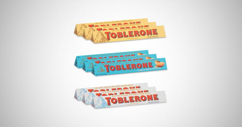 Toblerone Swiss Chocolate Set