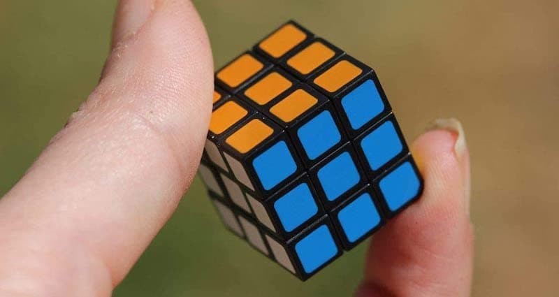 World's Smallest Rubik Collectable