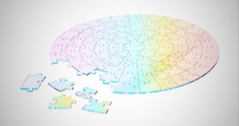 Hanmadh Transparent Jigsaw Puzzle