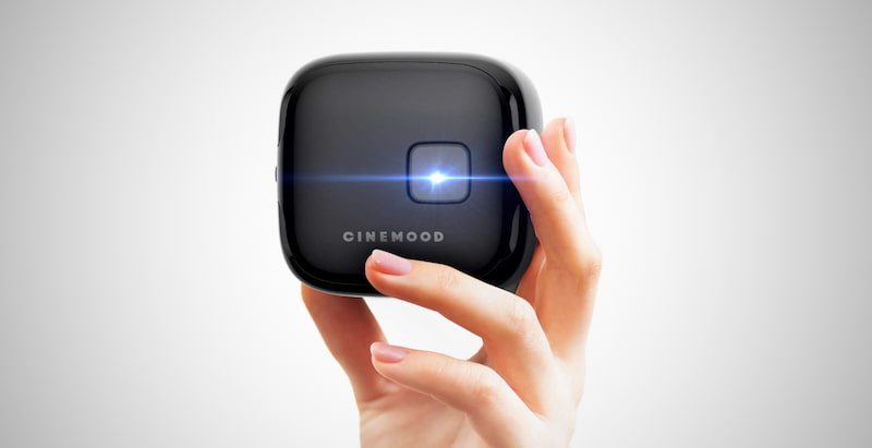 Smart Wi-Fi Cube Projector