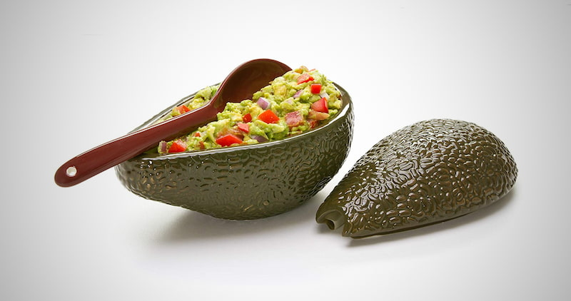 Guacamole Bowl with Spoon