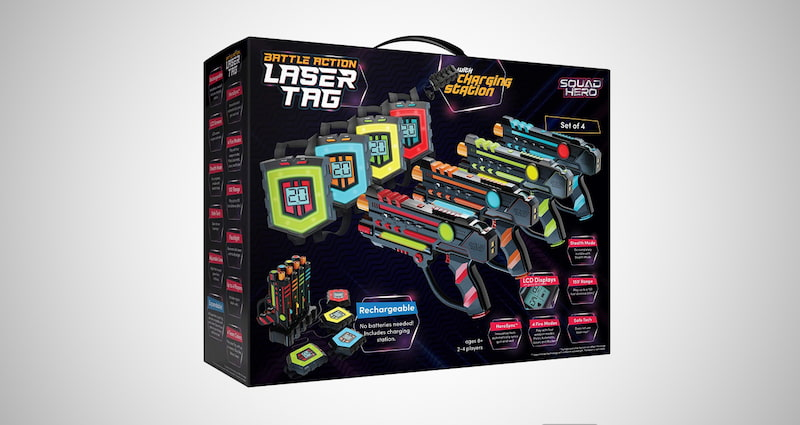 Rechargeable Laser Tag Set
