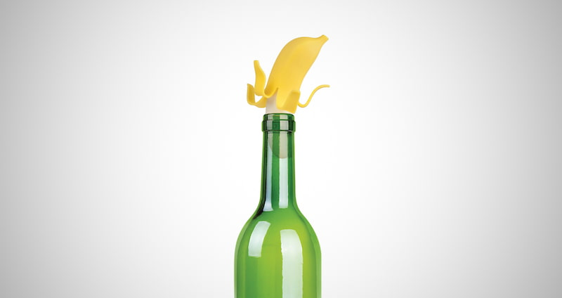 Top Banana Wine Bottle Stopper