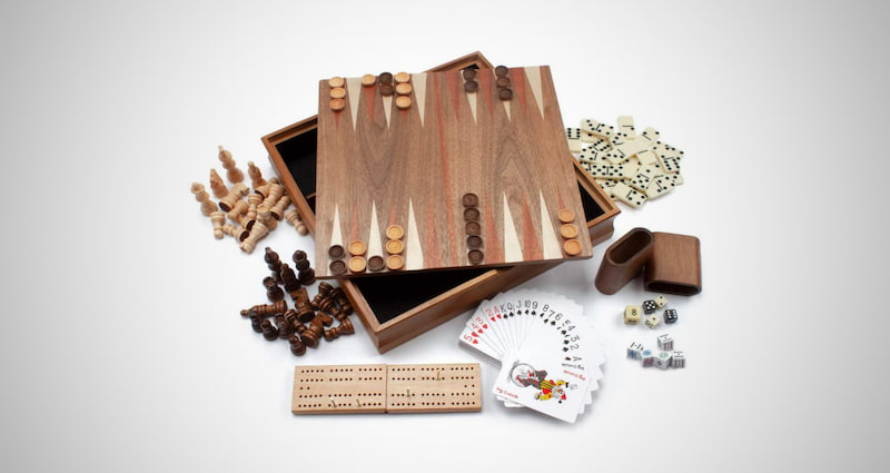 Wooden 7-in-1 Chess