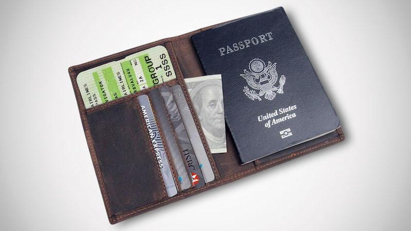 Polare RFID Blocking Passport Holder
