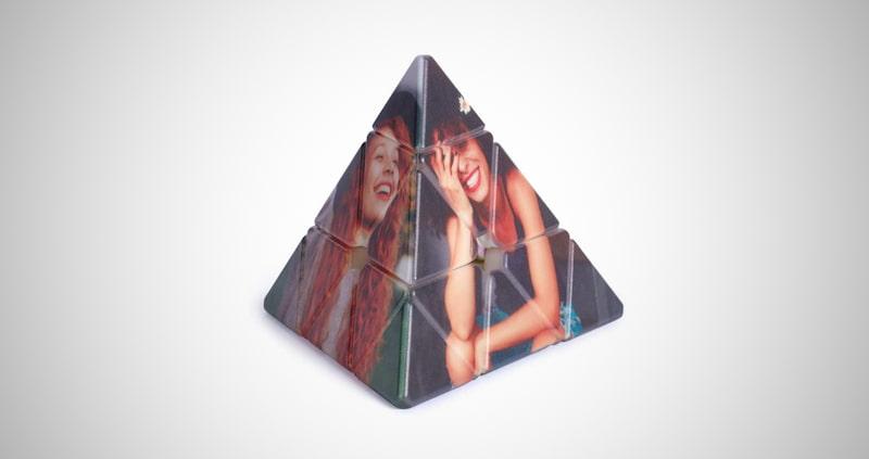 3D Rotatable Rubik's Cube