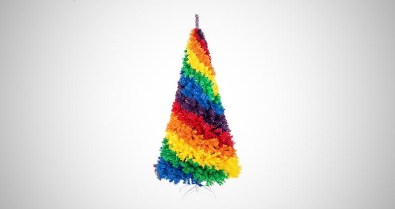 Rainbow Full Fir Christmas Tree