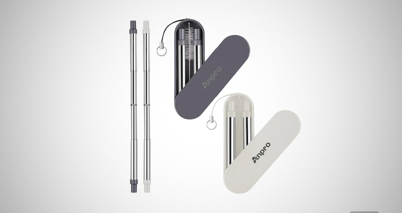Anpro Reusable Collapsible Straw