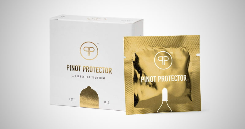 Pinot Protector Wine Bottle Stopper