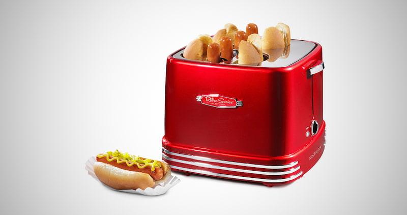 Nostalgia Hot Dog & Bun Toaster