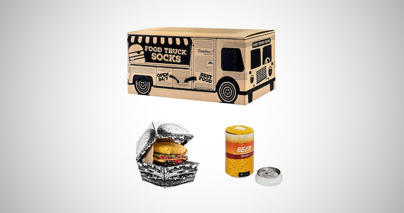 Funny Food Truck Box