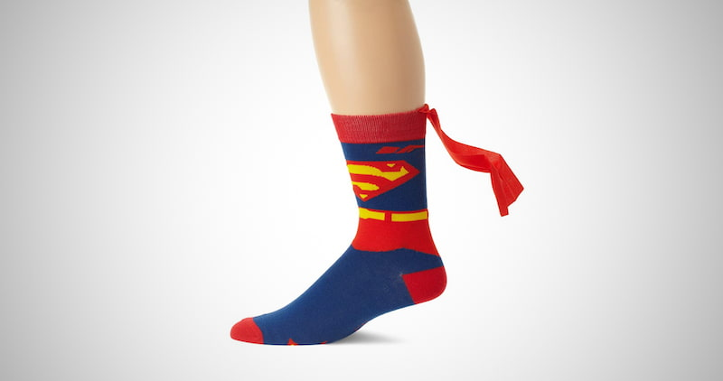 DC Comics Men's Superman Socks
