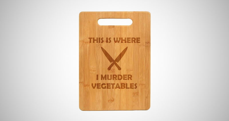This Is Where I Murder Vegetables