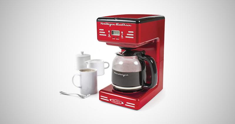 Nostalgia Programmable Coffee Maker