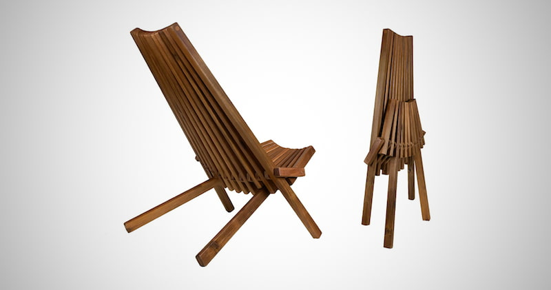 CleverMade Tamarack Folding Chair