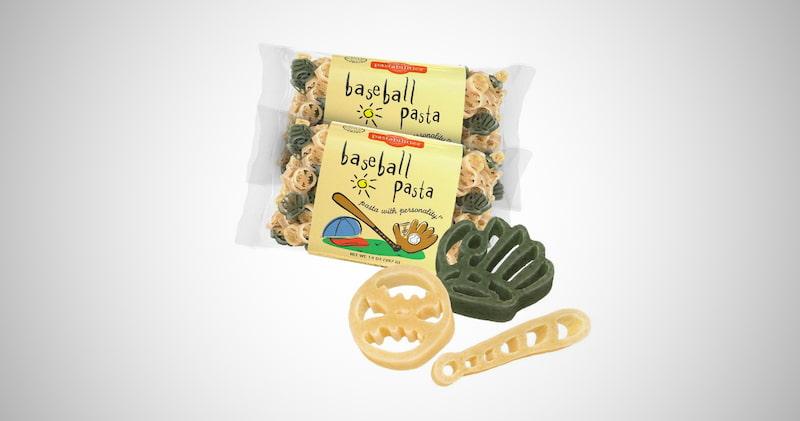 Baseball Shaped Pasta