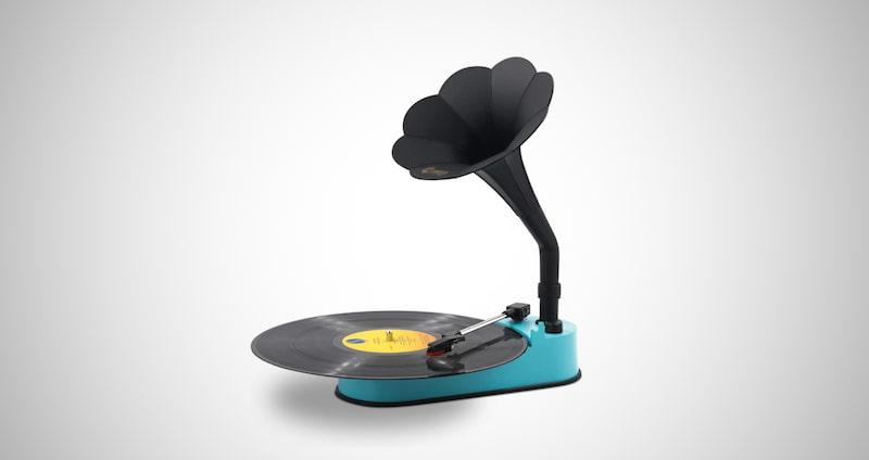 Retro Turntable Record Player