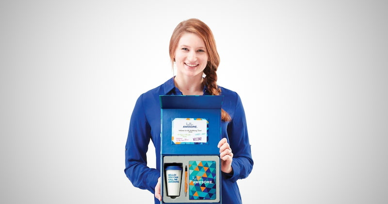 Employee First Day Onboarding Gift Set