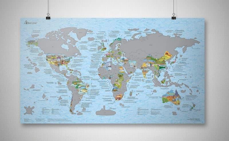 Bucket List World Map