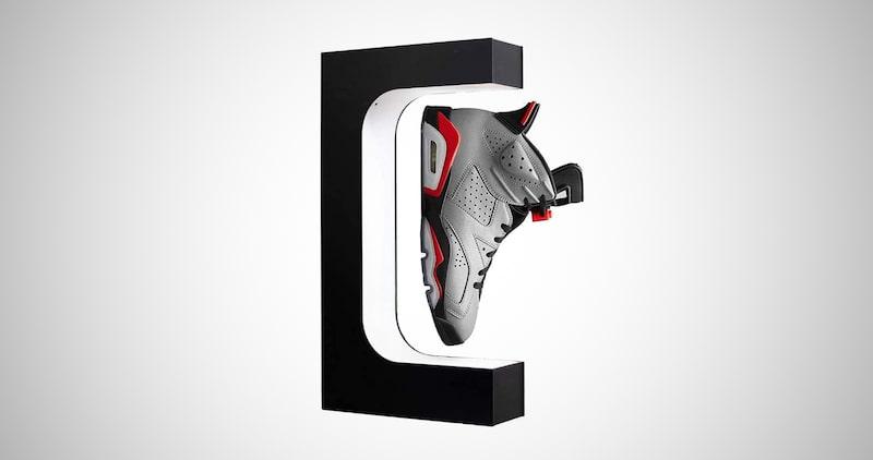 Floating Shoe Display