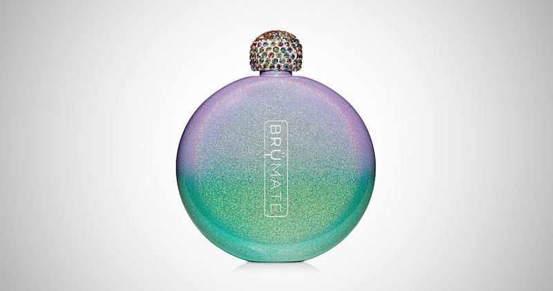 BruMate Holographic Glitter Spirit Flask