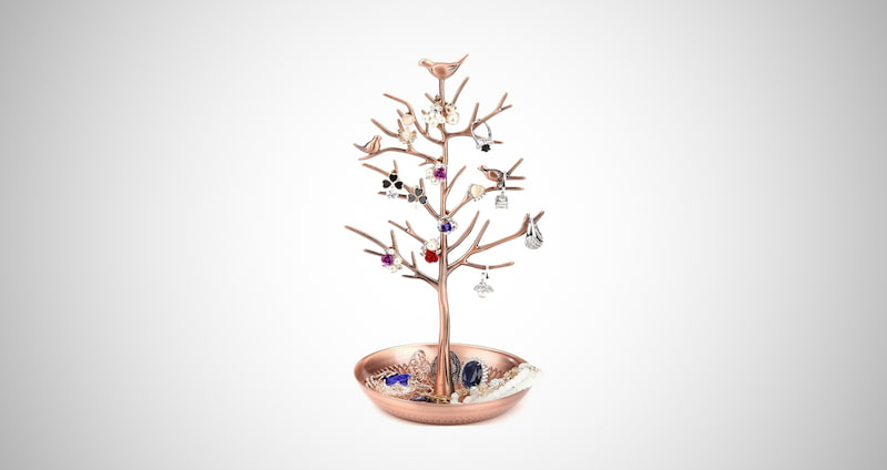 Necklace Earring Holder Tree