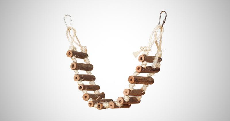 Naturals Rope Ladder Bird Toy