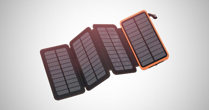 Portable Solar Power Bank