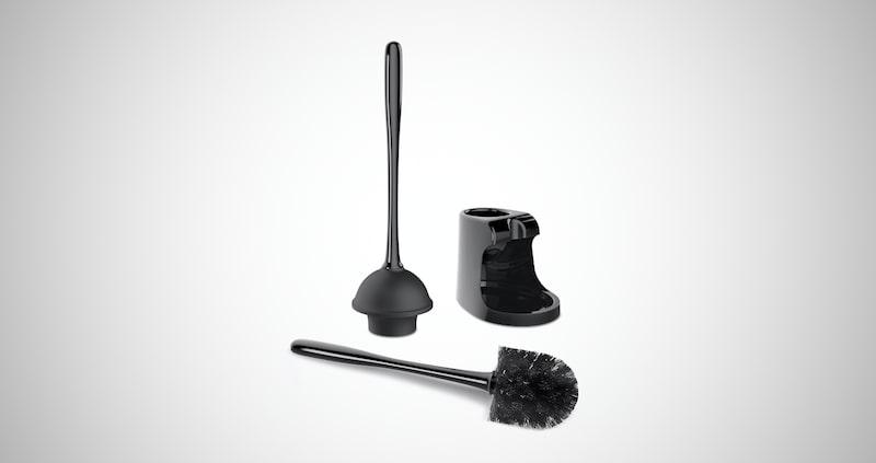 MR.SIGA Toilet Plunger & Brush Combo